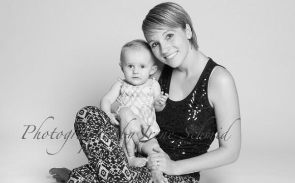 Baby-Fotoshooting mit den Eltern