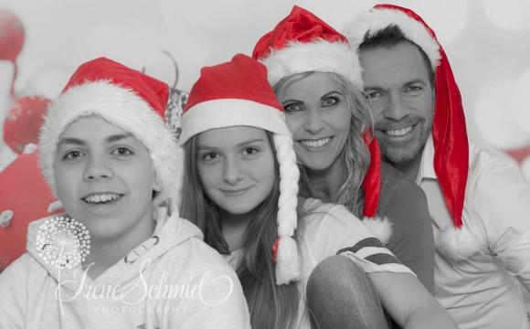 Selbstversuch Weihnachtsfotoshooting