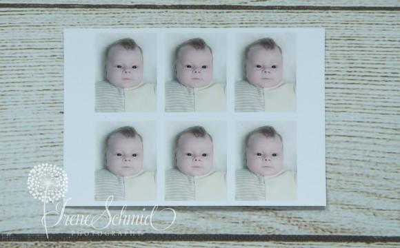 Passbilder von Ihrem Baby