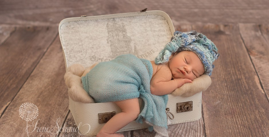 Babyfotografin Irene Schmid