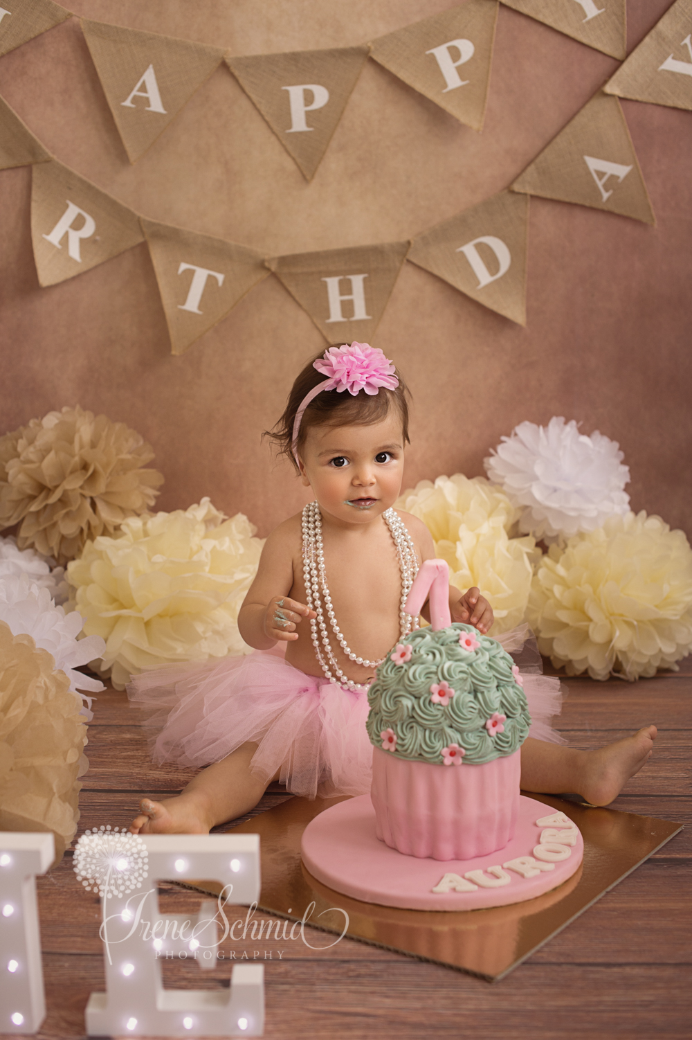 Cake Smash Shooting - Irene Schmid Photographie Winterthur
