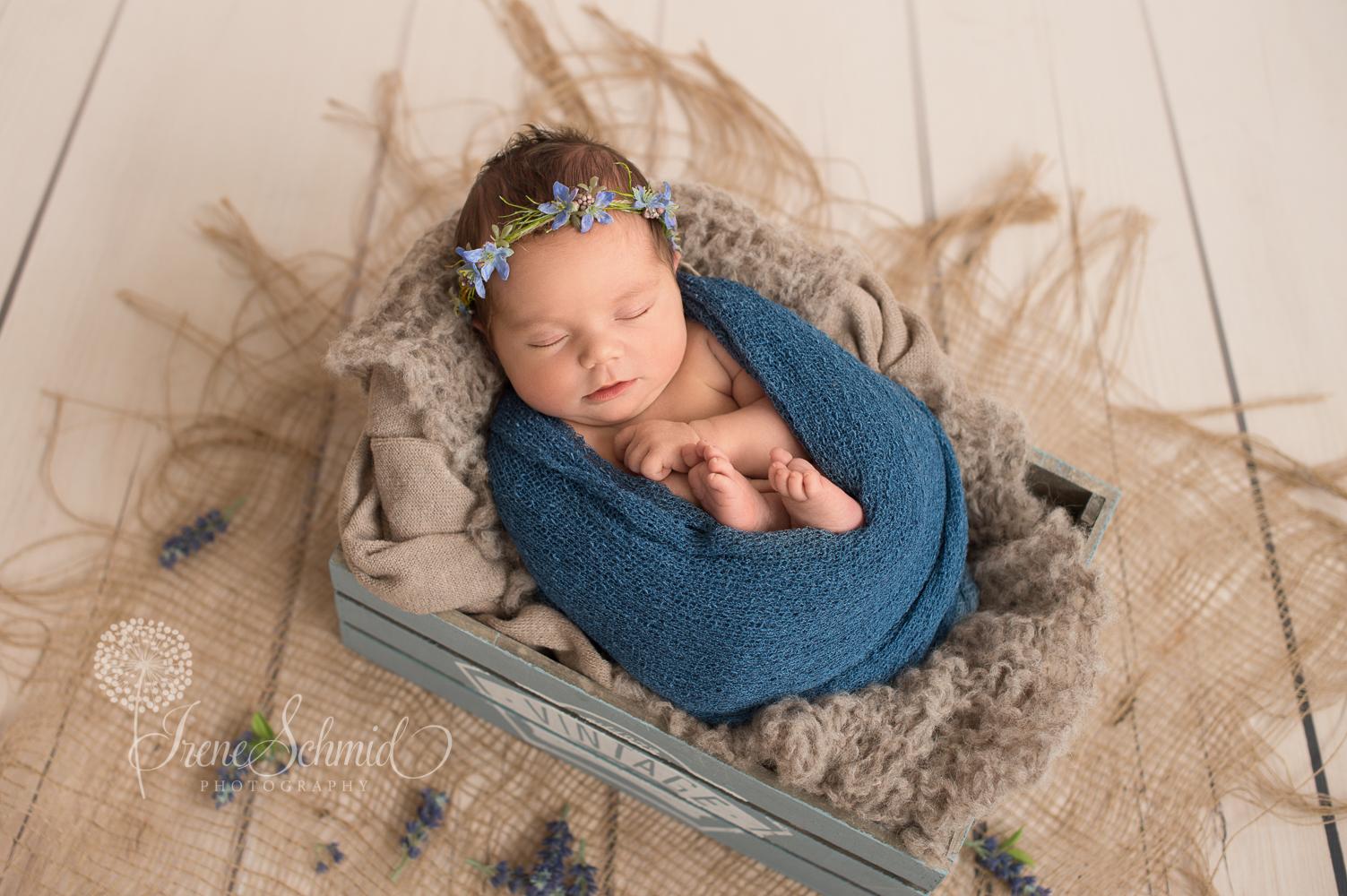 Mini-Wrapped-Shooting - Babyfotografin aus Winterthur