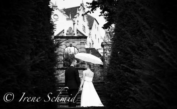 Schirme fürs Hochzeitsfest