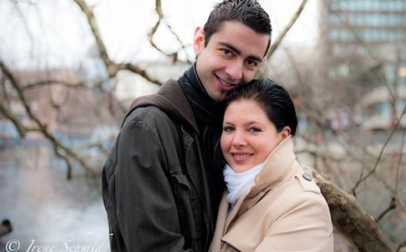 Verlobungsshooting vor der Hochzeitsfeier