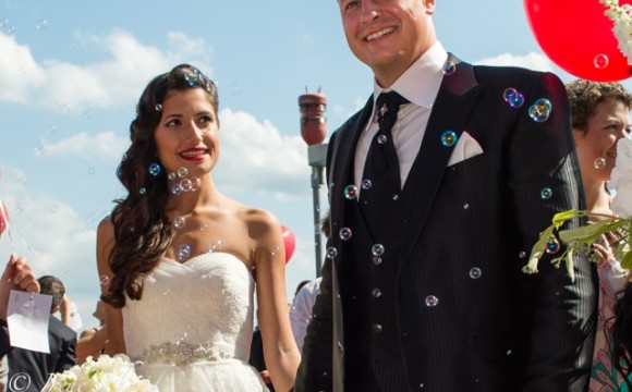 Wedding Bubbles für das Hochzeitsfest