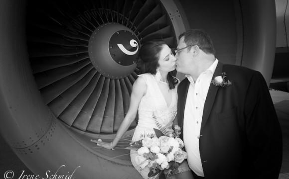 Heiraten im Flughafen Zürich