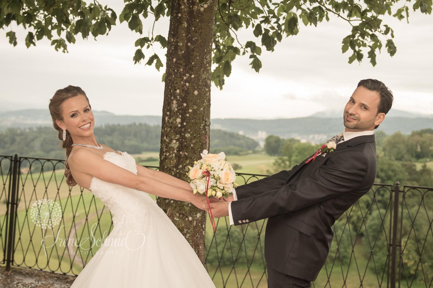 Hochzeitsshooting auf dem Regensberg - Irene Schmid Photographie