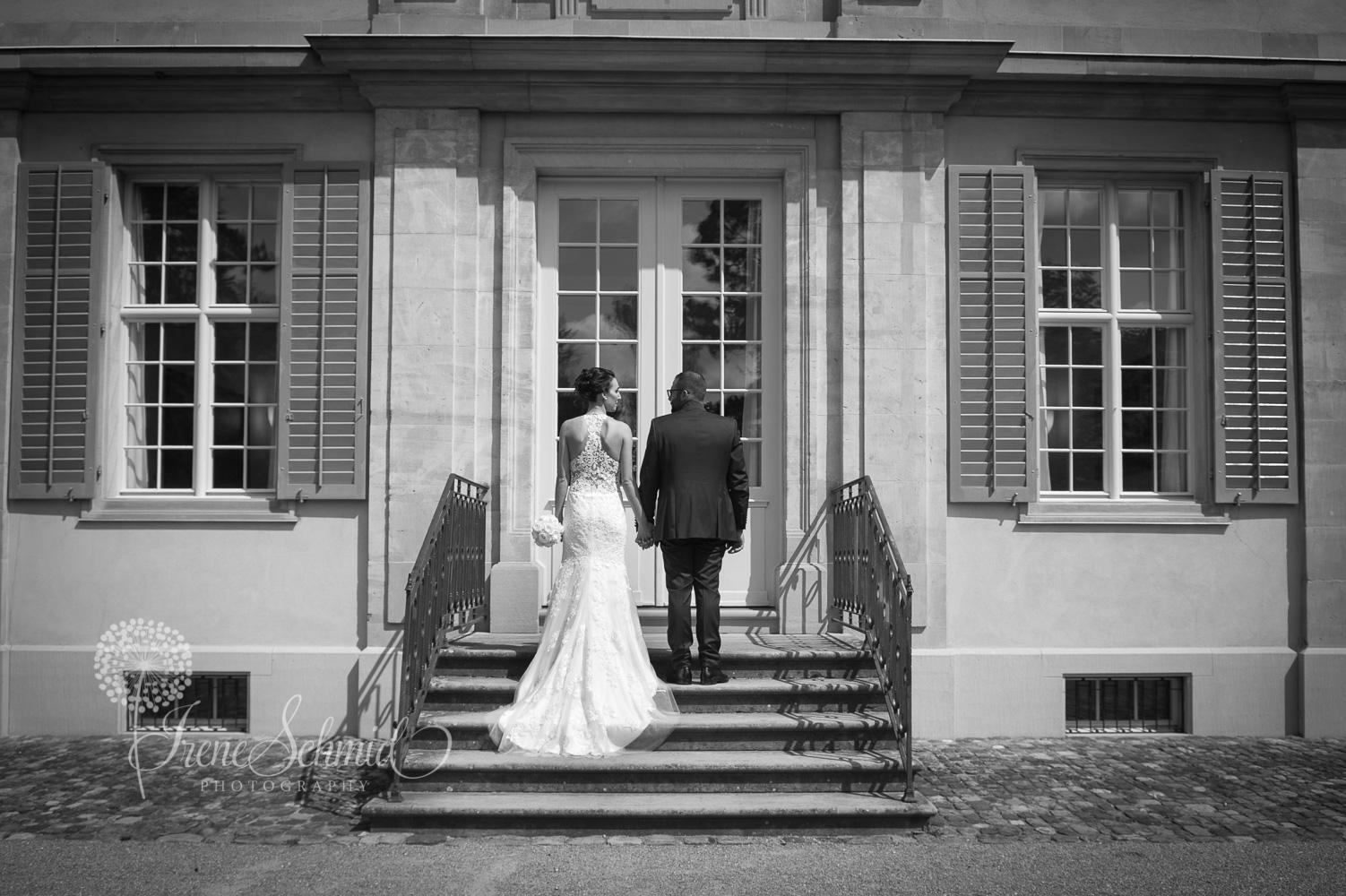 Hochzeit in der Villa Lindengut in Winterthur